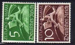 Deutsches Reich, 1939, Mi Z738-Z739 ** [250818LAII] - Deutschland