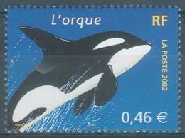 France, Killer Whale (Orcinus Orca), 2002 MNH VF - France
