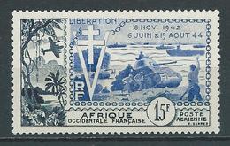 A.O.F 1954 . Poste Aérienne N° 17 . Neuf ** (MNH) - A.O.F. (1934-1959)