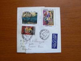Letter De Francia - Faja Postal - Francia