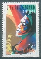 France, Ella Fitzgerald, American Jazz Singer, 2002 MNH VF - Francia