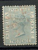 Sierra Leon 1884 2p Queen Victoria Issue #26 - Sierra Leone (...-1960)