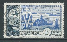 A.O.F 1954 . Poste Aérienne N° 17 . Oblitéré . - Oblitérés
