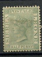 Sierra Leon 1883 1/2p Queen Victoria Issue #22 - Sierra Leone (...-1960)