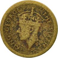 Monnaie, Hong Kong, George VI, 5 Cents, 1949, TB, Nickel-brass, KM:26 - Hong Kong