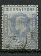 Sierra Leon 1907 2 1/2p King Edward Issue #94 - Sierra Leone (...-1960)