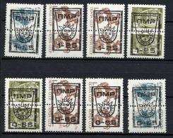 TIRASPOL 1992, 8 Valeurs, Surcharges Overprinted Sur URSS. R154 - Moldavie