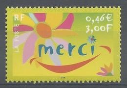 "France, ""Thank You"", 2001 MNH VF - France"