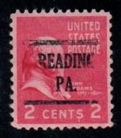 "USA Precancel Vorausentwertung Preo, Locals ""READING"" (PA). - United States"