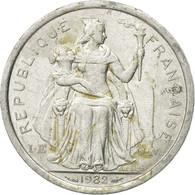 Monnaie, French Polynesia, Franc, 1982, Paris, TB, Aluminium, KM:11 - Polynésie Française