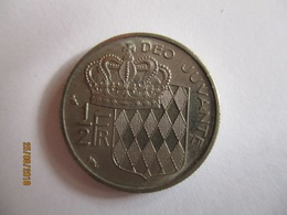 Monaco 1/2 Franc 1965 - 1960-2001 Nouveaux Francs