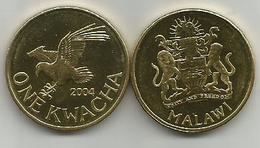 Malawi 1 Kwacha 2004. KM#65 HIGH GRADE From Bank Bag - Malawi
