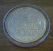 USA United States, Chris Duane Silver Shield TRIVIUM 2012 BU 1 Oz Pure Silver - 1 Oncia Argento Stati Uniti - United States