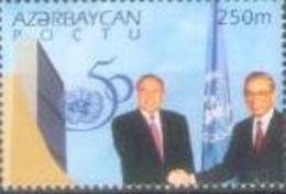 AZ 1995 50A°O N U, ASERBEDIAN, 1v, MNH - Aserbaidschan
