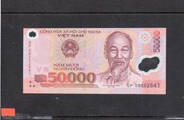VIETNAM 2009, 50.000 DONG, POLIMERO, P-121g, SC-UNC - Vietnam