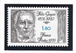 France N° 2052 ** Félix Guyon Cote 1,00€ - France