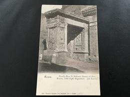 860 - ROMA Piccolo Arco Di Settimio Severo Al Foro Boario, Detto Degli Argentieri - Roma (Rome)