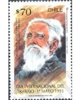 Ref. 303524 * MNH * - CHILE. 1993. WORKERS INTERNATIONAL DAY . DIA INTERNACIONAL DEL TRABAJO - Célébrités