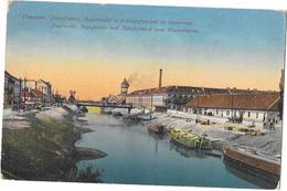 Hongrie - TEMESVAR - Jozsefvàros, Begaarészlet A Dohàanygydrral és Viztorony - 1918 - Hungría