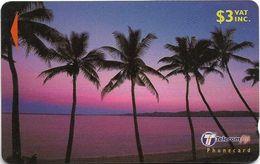 Fiji - Palms 3 Dawn To Dusk - 30FJB - 2000, Used - Fiji