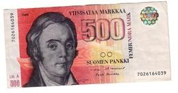 Finland 500 Marka 1986 Litt. A - Finland