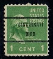 "USA Precancel Vorausentwertung Preo, Locals ""CINCINNATI"" (OHIO. - United States"