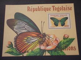 TOGO - BF 1982 FARFALLA - NUOVO(++) - Togo (1960-...)