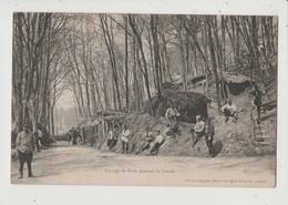 CPA - Un Coin De Forêt Pendant La Guerre - Militaire Militaria - Marius Plagnes éditeur St Saint Chély D'Apecher - Non Classés