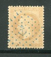 Y&T N°28A- Ancre Bleue - 1863-1870 Napoleone III Con Gli Allori