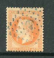 Y&T N°31- Ancre Bleue - 1863-1870 Napoleone III Con Gli Allori