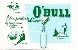 Buvard O'Bull, L'eau Pétillante En Sachets. - Sprudel & Limonade