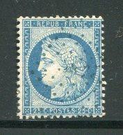 Y&T N°60C- Ancre Bleue - 1871-1875 Ceres