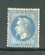 Y&T N°29B- Ancre Rouge - 1863-1870 Napoleone III Con Gli Allori