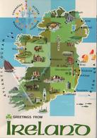Irlanda Ulster Munster Leinster Kpr Dublin Bantry Stigo Westport Athlone Killarney Rosslare - Sligo