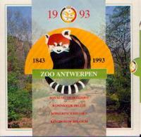 BELGIQUE – Série « Fleur De Coin » - Zoo D'Anvers - 1993 - Belgique