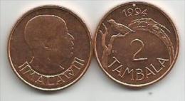 Malawi 2 Tambala 1994. - Malawi