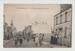 CPA - BEGROLLES - La Grande Rue ( Quartier De L'Eglise ) - France