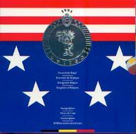 BELGIQUE – Série « Fleur De Coin » - Zoo D'Anvers - 1993 Description : Impeccable – Bien Complet - Belgique