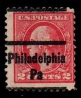 "USA Precancel Vorausentwertung Preo, Locals ""PHILADELPHIA"" (PA). - United States"