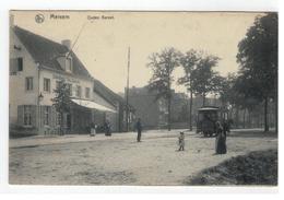 Merksem  Merxem  Ouden Bareel (met Paardentram) 1906 - Antwerpen