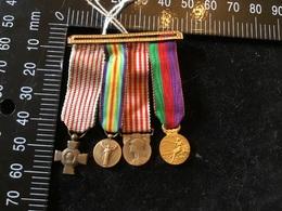 Médaille Miniature Militaire 1914-18 - France