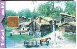 NORWAY - Maihaugen(179), Tirage 30000, 06/00, Used - Landscapes