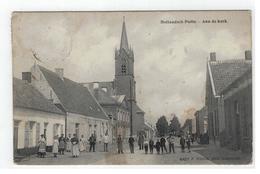 Hollandsch Putte - Aan De Kerk Nr 4427 F.Hoelen (met Sterstempel Putte 1909) - Kapellen