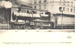Thèmes - Transports - Chemins De Fer Les Locomotives Française - Machine N° 220-503 (ancien 503 Ouest ) - Trains