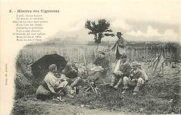 VITICULTURE , Miseres Des Vignerons ( Henri Rouger A Auxerre ) , * 399 71 - Autres