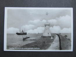 AK SWINEMÜNDE Leuchtturm 1935 ///  D*33906 - Pommern