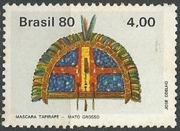 LSJP BRAZIL INDIGENOUS MASK TARIPARE 1980 - Brazil