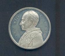 """VATICAN Avers « LEO XIII PONT. MAXx – Revers """"1893 ANNO.RICORDO DEL GIUBILEO EPISCOPALE DI S.S. LEONE XIII."""" - Tokens & Medals"""