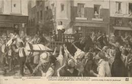 """Salon 1912 , E Beringuier , """" Charlotte Corday Conduite Au Supplice """" , * 401 44 - Pittura & Quadri"""