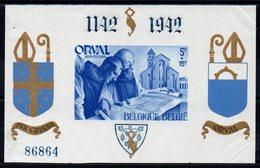 Belgique - YT BF N° 19 - Neuf ** - MNH - Cote: 95,00 € - Blocks & Sheetlets 1924-1960
